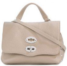 Zanellato - Borsa tracolla 'Postina' - women - Calf Leather - One Size - GREY