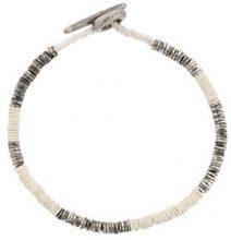 M. Cohen - Braccialetto con perline - women - Silver - OS - WHITE