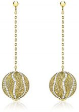 Carissima Gold Orecchini a pendolo e goccia Donna due_ori 9k_(375) - 2.54.4389