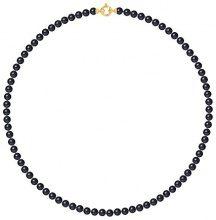 Pearls & Colors–Collana Multifilo–Oro Giallo 9kt–Perla D' Acqua Dolce–42cm–am-9cc 55ar3j-bl