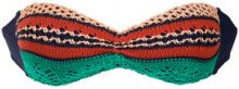 Cecilia Prado - Lana knit bandeau bikini top - women - Acrylic/Viscose - P - unavailable