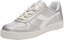 Diadora B.Elite L Wn, Sneaker Donna, Grigio (Argento Metallizzato), 39 EU