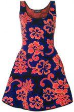 Dsquared2 - Vestito con motivo a fiori - women - Polypropylene/Cotton - S, M - YELLOW & ORANGE