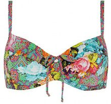 Cyell 119, Bikini Top Donna, Mehrfarbig (Gypsy Rose 205), 44