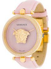 Versace - Orologio 'Palazzo Empire' - women - Leather/stainless steel/Vetro Zaffiro - OS - Rosa & viola
