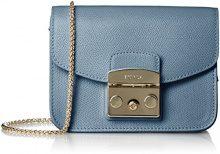 FURLAMetropolis Mini Crossbody - Borsa a tracolla donna, Metropolis Mini Crossbody, blu