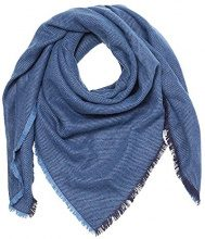 ESPRIT 017EA1Q004, Sciarpa Donna, Blu (Blue), Taglia unica