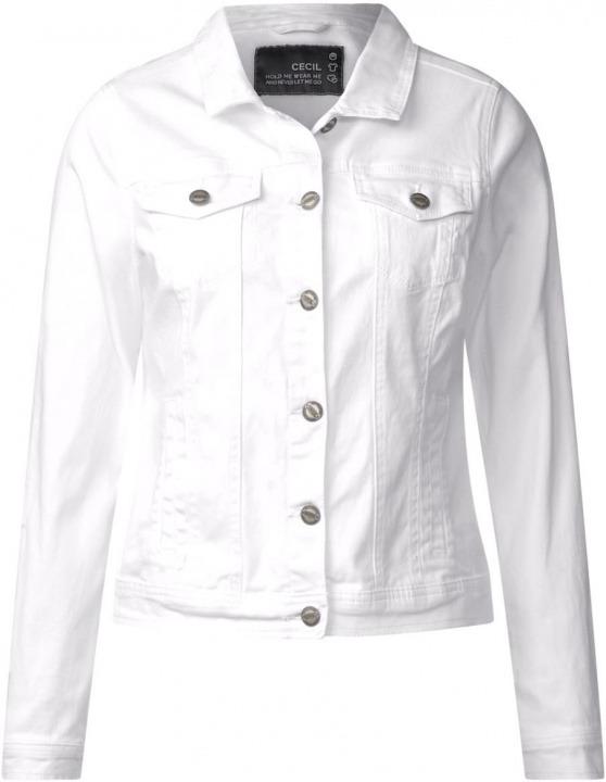 Bianco white M 210681 In taglia Giacca Jeans 10000 Cecil Donna Hedda Produttore wA77qXYZ