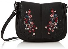 New Look Folk Embroidered, Borsa a tracolla Donna