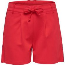 ONLY Loose Shorts Women Red