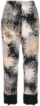 Nº21 - Pantaloni crop - women - Silk - 38, 44, 40, 42 - BLACK