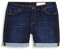 ESPRIT 067ee1c010, Pantaloncini Donna, Blu (Blue Medium Wash 902), W26