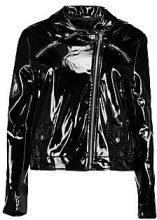 Emily Patent Biker Jacket