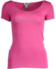 T-shirt Blumarine  Q49 T-SHIRT MANICHE CORTE Donna ROSA 213C