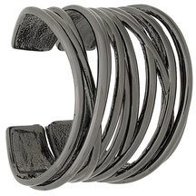 Federica Tosi - Big Sick bracelet - women - Brass - OS - METALLIC