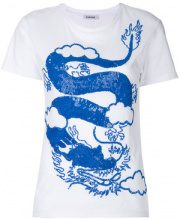 P.A.R.O.S.H. - comodo dragon T-shirt - women - Cotton/PVC - XS, S, M - WHITE