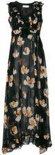 L'Autre Chose - Vestito lungo - women - Silk - 42 - BLACK