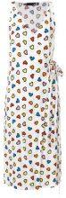 Love Moschino - Vestito a portafoglio - women - Viscose - 44 - WHITE