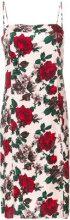 Equipment - floral midi shift dress - women - Silk - S, M - PINK & PURPLE