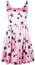 Moschino - star print dress - women - Silk/Viscose - 38, 40, 44, 46 - Rosa & viola