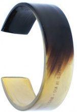 Osklen - Corne e Ayiti bracelet - women - Latex - OS - Nero