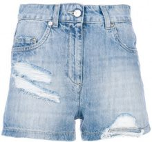 Moschino - Shorts in denim - women - Cotton - 40, 42, 38 - BLUE