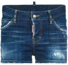 Dsquared2 - Shorts in denim - women - Cotton/Polyester/Spandex/Elastane - 38, 40, 42, 36, 44 - BLUE