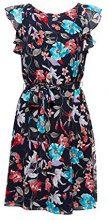 ESPRIT Collection 028eo1e035, Vestito Elegante Donna, Blu (Navy 400), 40 (Taglia Produttore: 34)