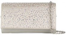 Rodo - Clutch con cristalli - women - Polyester/glass - OS - WHITE