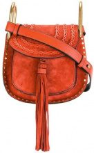 Chloé - Mini Hudson shoulder bag - women - Suede - OS - YELLOW & ORANGE