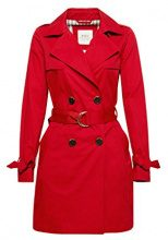 edc by Esprit 018cc1g014, Giubbotto Donna, Rosso (Red 630), Small