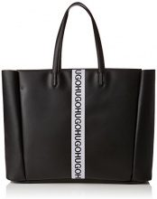 Hugo Kingston Tote - Borse a spalla Donna, Nero (Black), 16x35x57 cm (B x H T)