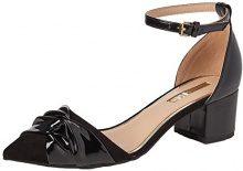 Miss KGAvenue - Strap Alla Caviglia Donna, Nero (Black (Black)), 41