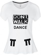 Marc Cain Collections HC 48.68 J69, T-Shirt Donna, Bianco (White 100), 40(Taglia del Produttore: N1 / 34)
