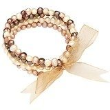 Valero Pearls Bracciale da Donna con Perle coltivate d'acqua dolce oro avorio Tahiti verde 60200114