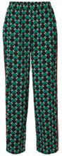 NOISY MAY Printed Trousers Women Black