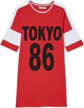 FIND Vestito Donna, Rosso (Rot), 50 (Taglia Produttore: XX-Large)