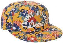 Hilfiger Denim Thdw CAP 12, Berretto Donna, Multicolore (Pinto Print/Marigold), Small (Taglia Produttore: S-M)