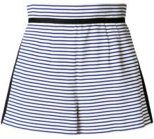 Philosophy Di Lorenzo Serafini - Shorts a righe - women - Cotton - 40, 42 - WHITE