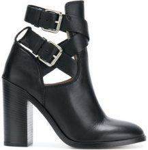 Diesel - Stivaletti 'D-Komb Heeled' - women - Calf Leather/Leather - 36, 37, 38, 39, 40 - BLACK