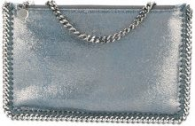 Stella McCartney - Falabella clutch - women - Artificial Leather - OS - BLUE
