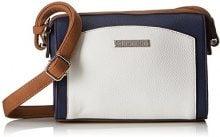 Tamaris Elsa Crossbody Bag S - Borse a tracolla Donna, Blau (Navy Comb.), 9x16x21 cm (B x H T)