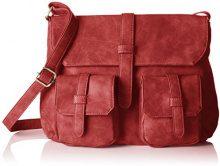 Betty Barclay BB-1044-VE, Borsa a spalla Donna, Rosso (Rosso (red 019)), 8x26x35 cm (B x H x T)
