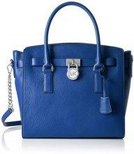 Michael Kors Hamilton - Borse a secchiello Donna, Blu (Electric Blue), 15.2x26.6x36.2 cm (W x H L)