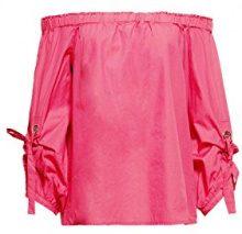 edc by Esprit 038cc1f008, Camicia Donna, Rosa (Pink Fuchsia 660), X-Small