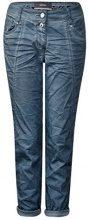 Cecil 371268 New York, Pantaloni Donna, Blau (Deep Blue 10128), W38