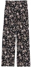 FIND Floral Wide Leg Pantaloni Donna, Nero (Black Mix), 42 (Taglia Produttore: Small)