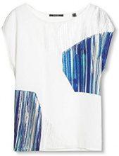 ESPRIT Collection 037eo1k005, Vestaglia Donna, Bianco (off White), 36 (Taglia Produttore: Small)
