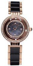 Stella Maris STM15SM16 - Orologio da polso analogico al Quarzo Donna - Cinturino Ceramica Premium Quadrante madreperla Diamanti e elementi Swarovski