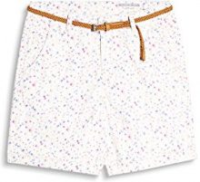 edc by Esprit 067cc1c014, Pantaloncini Donna, Beige (Light Beige 290), 34